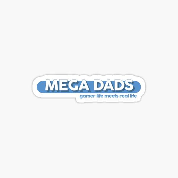 Mega Dads Logo Sticker