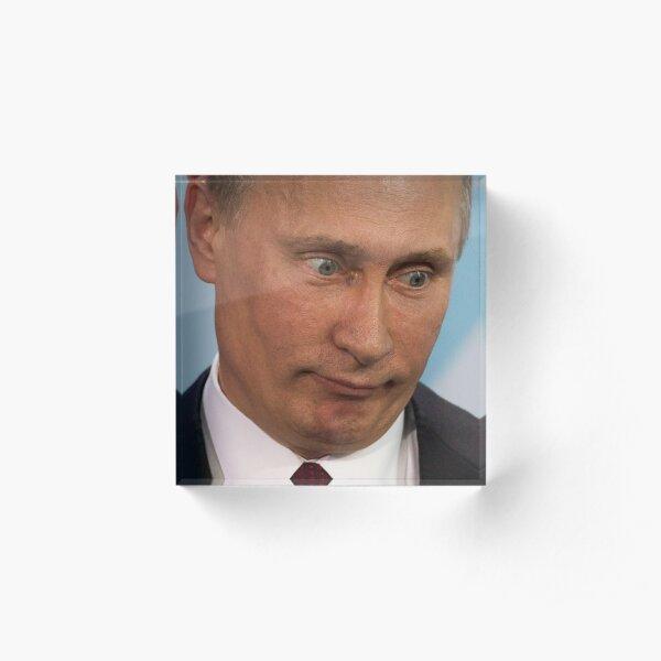 Funny Putin Acrylic Block