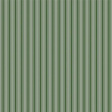 Large Dark Forest Green Mattress Ticking Stripes by podartist