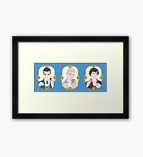 Tea Time - Trio Framed Print