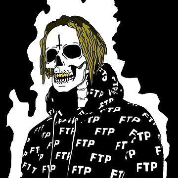Undead Scrim Suicideboys Fire Aura $uicideboy$ by ArcticCrow
