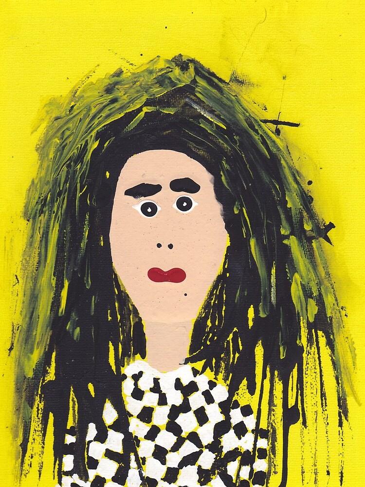 «Mary - Martin Boisvert - Faces à flaques» par martinb1962