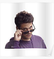 John Mayer Glasses Poster