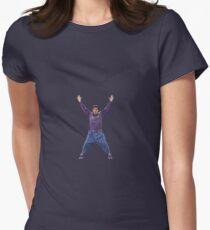 Camiseta entallada para mujer Fuegos artificiales de John Mayer