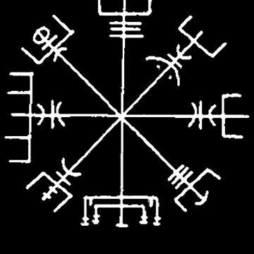 Vegvisir (white) by eclecticjustice