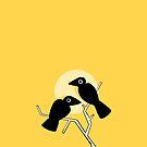 2 Crows by tayloreynolds13