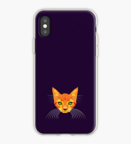 Orange Cat Check ME Out! iPhone Case