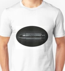 Smiley Face Bullet - Oval Crop T-Shirt