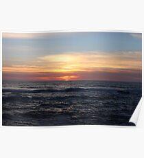 Yachats Sunset Poster