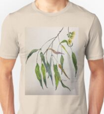 Gum leaves - Botanical illustration Unisex T-Shirt