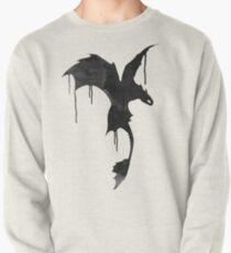 Zahnlose Silhouette - Tintentropfen Sweatshirt