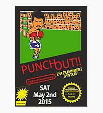 Floyd Mayweather, Jr. Nintendo Punch out parody !!! Photographic Print