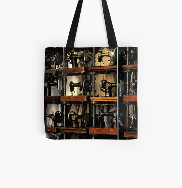 ~A Stitch in Time~ All Over Print Tote Bag