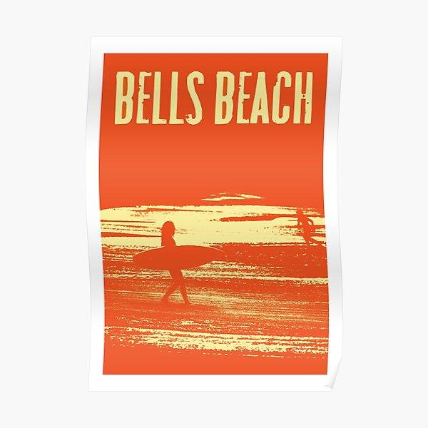 Bells Beach Travel Poster Poster