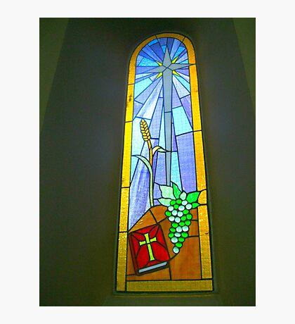 Buntglas-Fenster Fotodruck