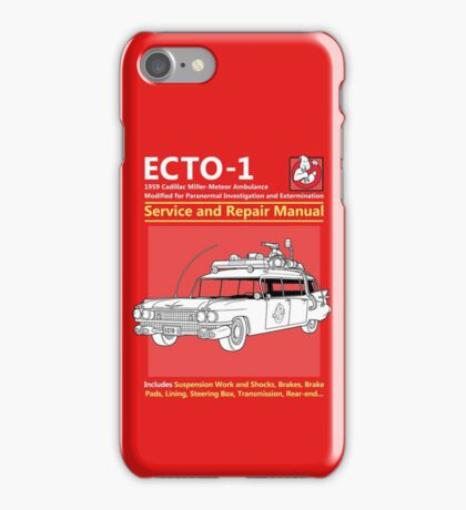 ECTO-1 Service and Repair Manual iPhone Case/Skin