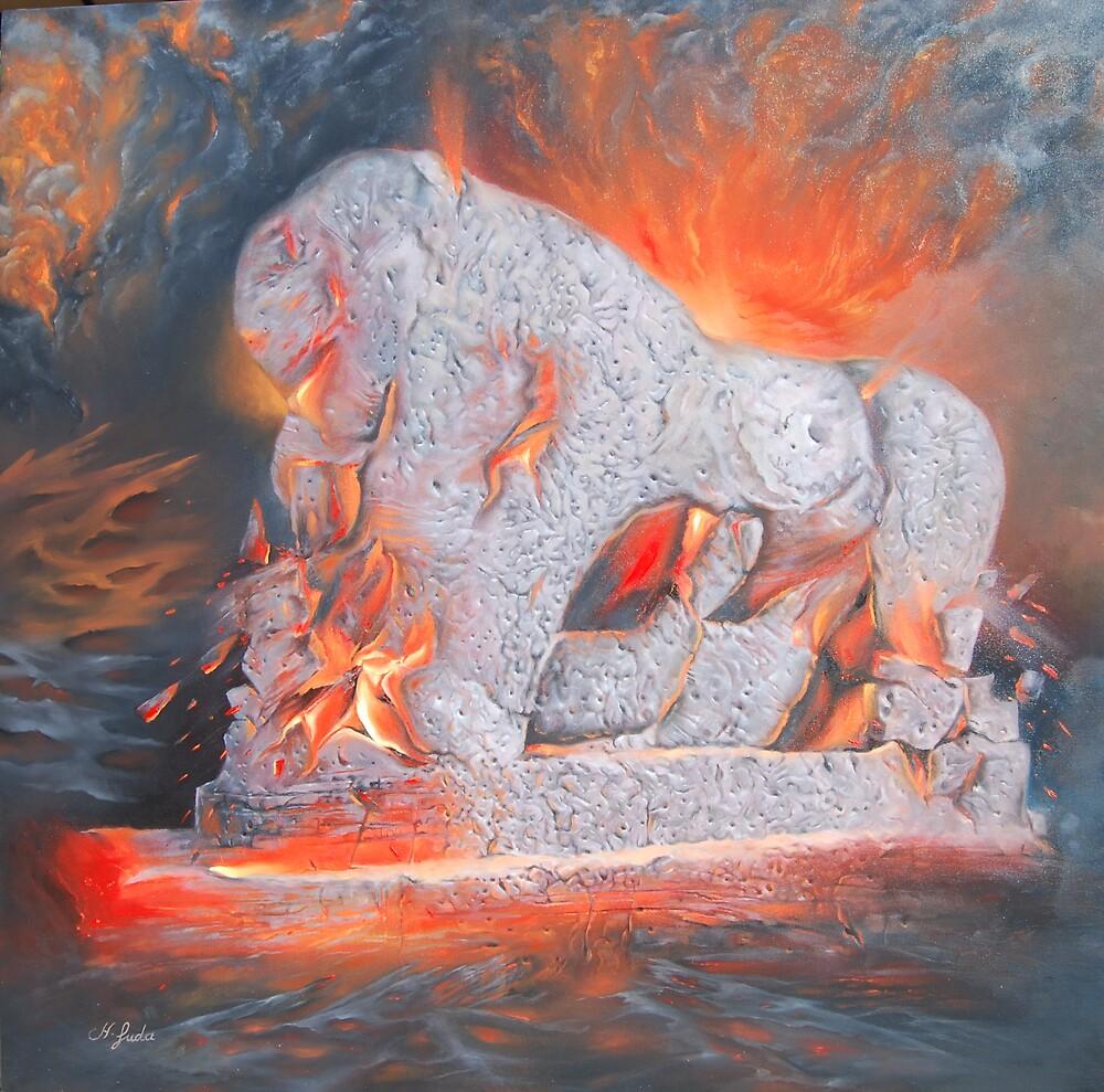 babylon burning by hushamfuda