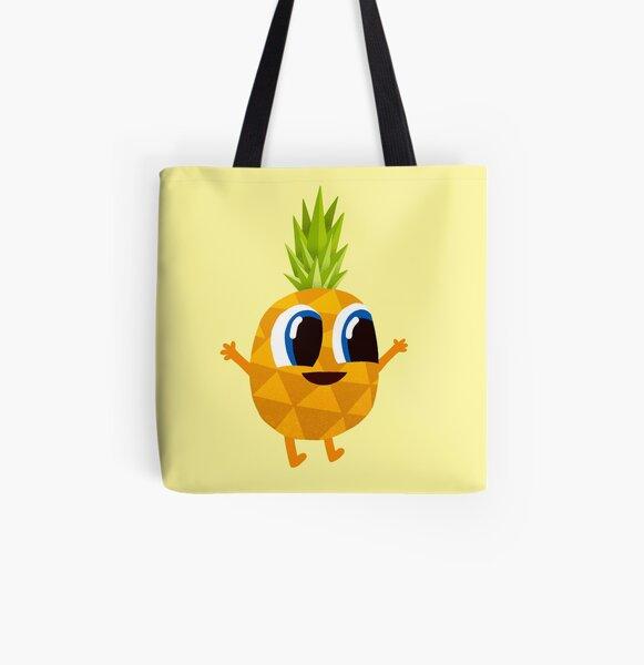 Ananas Pineapple All Over Print Tote Bag