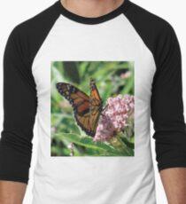 Flower Fly Men's Baseball ¾ T-Shirt
