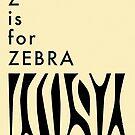 Z is for Zebra by JazzberryBlue