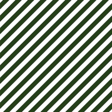 Large Dark Forest Green and White Candy Cane Stripes by podartist