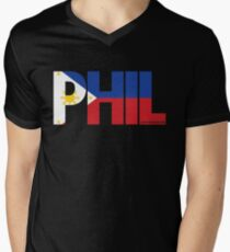 Phil Apino Men's V-Neck T-Shirt