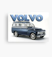 Vintage Volvo wagon Canvas Print