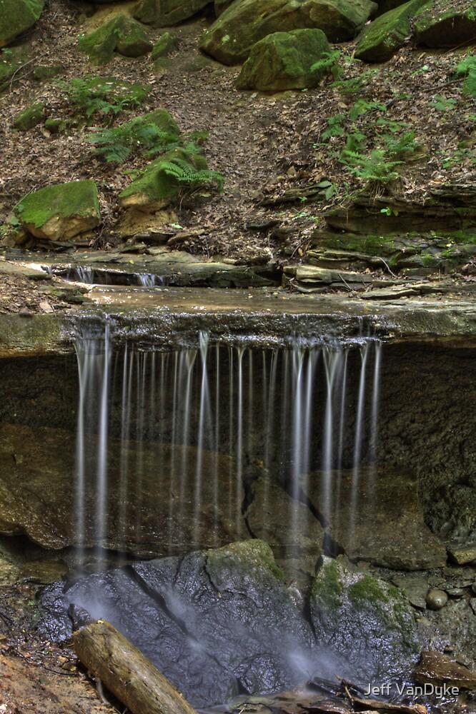 Maidenhair Falls #2 by Jeff VanDyke
