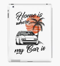 Passat B3 35i Variant & quot; Home is where my car is & quot; iPad Case/Skin