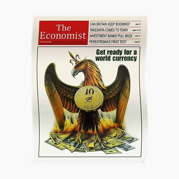 HD Reproduction of The Economist 1988 Poster