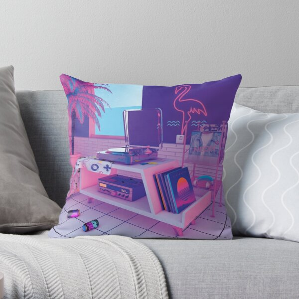 s p i n n i n g w a v e Throw Pillow