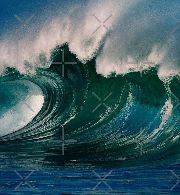 Winter Waves At Waimea Bay 2 by Alex Preiss