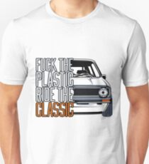 Golf 1 MK1 & quot; Fuck the Plastic & quot; Unisex T-Shirt