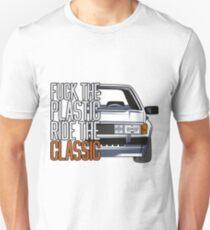 Scirocco 2 & quot; Fuck the Plastic & quot; Unisex T-Shirt