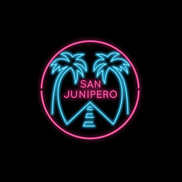 San Junipero Neon Lights by japdua