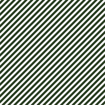 Small Dark Forest Green and White Candy Cane Stripes by podartist