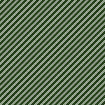 Small Dark Forest Green Candy Cane Stripes by podartist