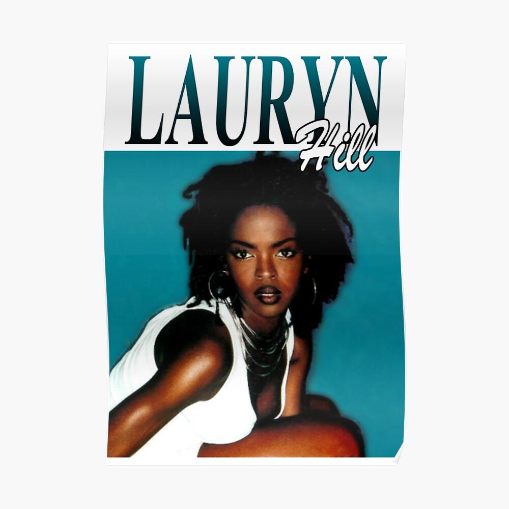 LAURYN HILL FUGEES década de 1990 R & B / Soul // VINTAGE INSPIRED DESIGN Póster