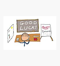 Good Luck Exams Photographic Print