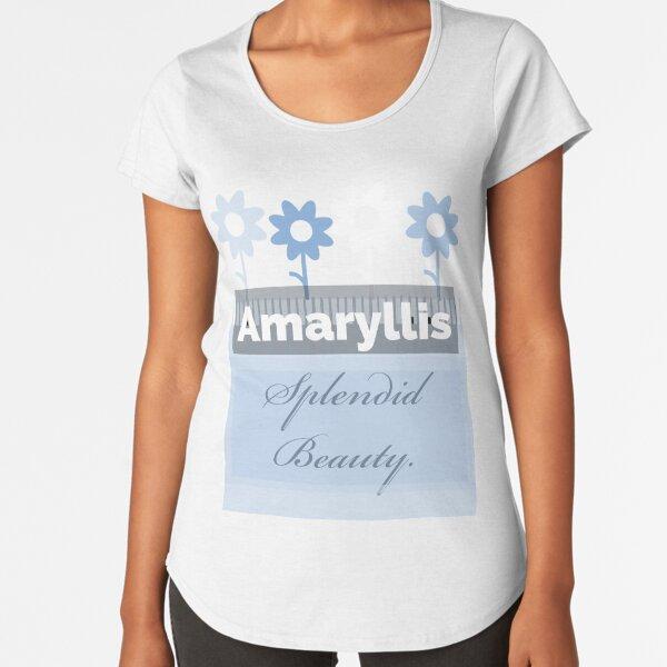 Amaryllis  Premium Scoop T-Shirt