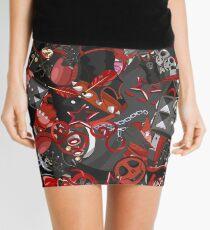 Punk Gothic pattern style Mini Skirt