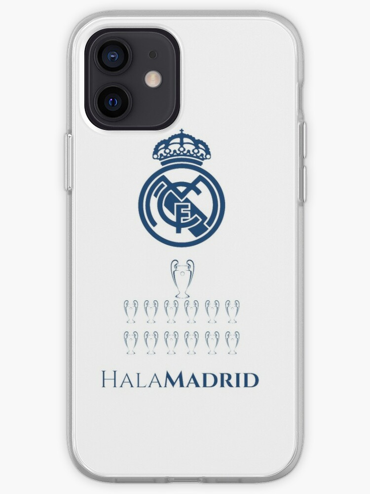 Real Madrid 13 Champions League Iphone Case Cover By Paulinhoxaxa Redbubble
