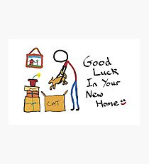 Good Luck New Home Photographic Print