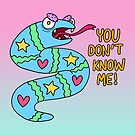 You Don't Know Me! Snake Friend by beckygarratt