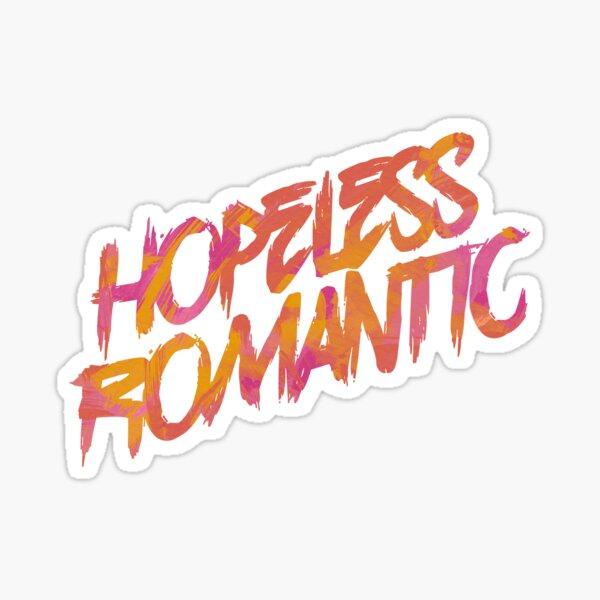 Hopeless Romantic Sticker