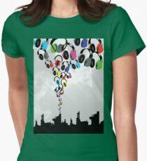 DJ Headphone Factory Womens Fitted T-Shirt