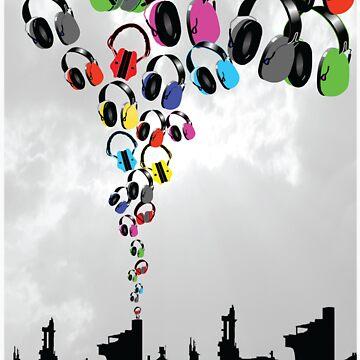 DJ Headphone Factory by DementedFerret