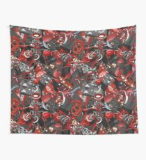 Punk Gothic pattern style Wall Tapestry