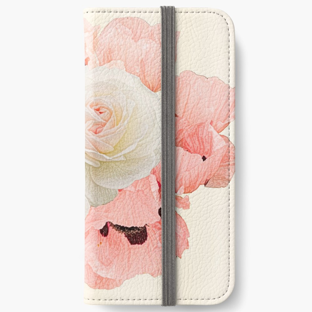 What the rose and the poppy say  iPhone Wallet