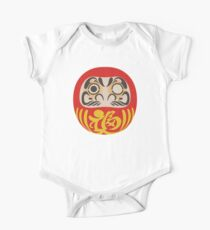 Daruma Doll One Piece - Short Sleeve